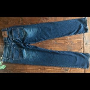 Lucky Brand Billy Straight Blue Jeans, 16